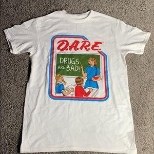 NWOT D.A.R.E school shirt